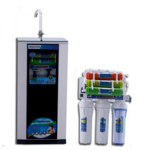 Máy lọc nước RO Vinmaxim 9 cấp - 4 cốc vỏ cường lực